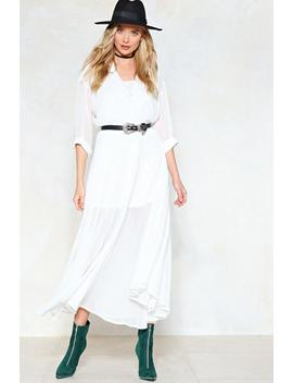 Love Shirts Maxi Dress by Nasty Gal