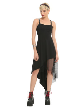 Tripp Fishnet High Low Dress by Hot Topic