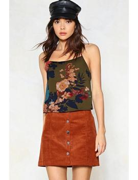 Grow Down In History Floral Cami Top by Nasty Gal