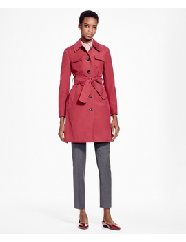 Double Face Water Repellant Coat by Brooks Brothers