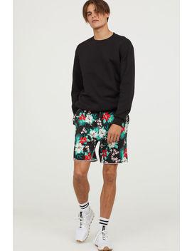 Pantalón Corto Estampado by H&M