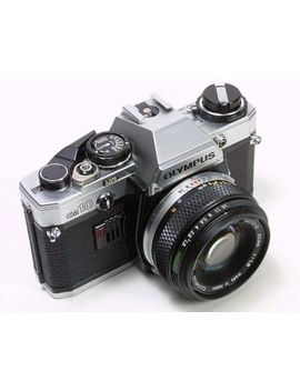 Olympus Om 10 Camera With F.Zuiko 50mm F/1.8 Lens    Tested! Good Light Meter by Ebay Seller