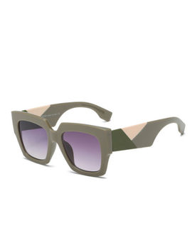 Designer Oversized Square Retro Vintage Fashion Sunglasses Women's Ladies by Ebay Seller