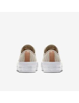 Converse Chuck Taylor All Star Lift Herringbone Mesh Low Top by Nike