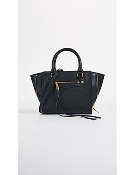 Side Zip Mini Regan Tote Bag by Rebecca Minkoff