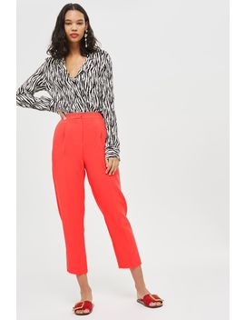 Clean Tapered Trousers by Topshop