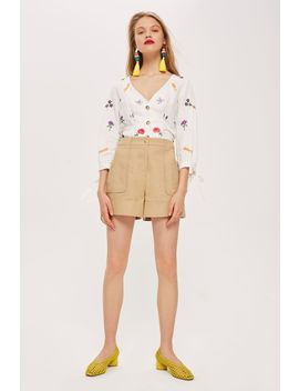 Petite Utility Shorts by Topshop
