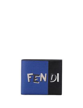 Vocabulary Leather Bi Fold Wallet by Fendi