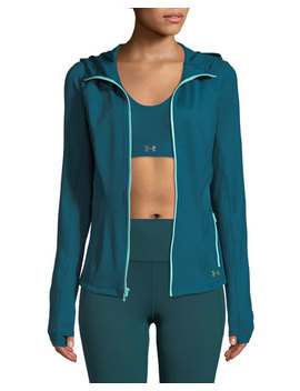 Breathelux Full Zip Hooded Performance Jacket by Under Armour