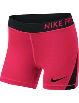 Nike Pro Girls' 4'' Shorts by Nike
