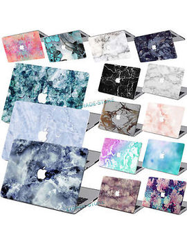 """Rubberized Hard Case Marble Painted Laptop Cover For Macbook Air 11""""12""""Pro 13""""15 by Unbranded/Generic"""