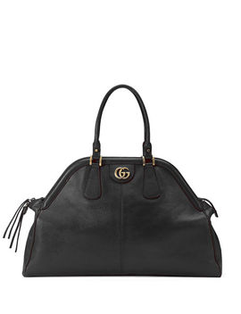 Re(Belle) Large Leather Top Handle Bag by Gucci