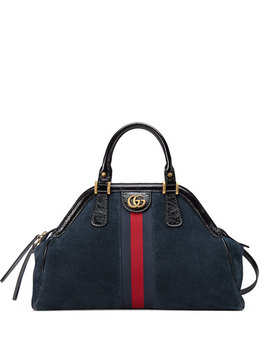 Re(Belle) Large Suede Top Handle Bag by Gucci