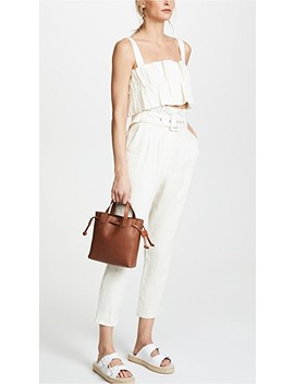 Mini Pocket Transport Tote Drawcord by Madewell