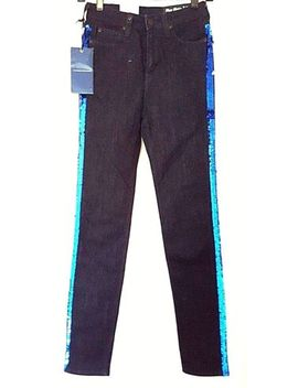 """Brand New Lee Jeans Skyler High Waist With Sequin W 26"""" L 31"""" by Lee"""