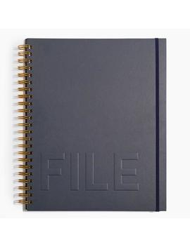 Pro File Folder In Navy by Poketo