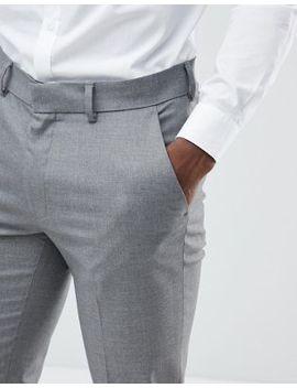 Asos Skinny Suit Trousers In Mid Grey by Asos