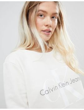 Calvin Klein Jeans True Icon Logo Sweatshirt by Calvin Klein
