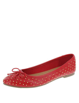 Women's Brit Studded Ballet Flat by Learn About The Brand Brash
