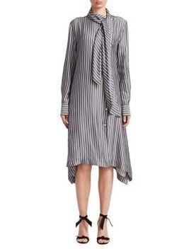 Striped Scarf Dress by See By Chloé
