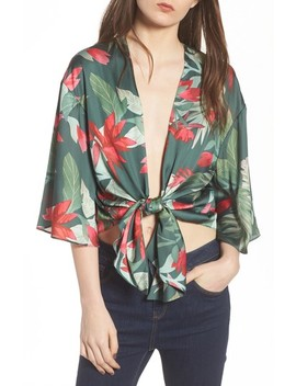 Dino Tie Front Top by Lovers + Friends