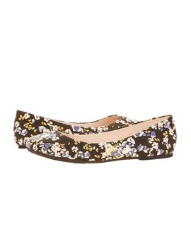 Time And Tru Women's Basic Ballet Flat by Time And Tru