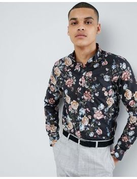 Selected Homme Smart Shirt With All Over Print In Slim Fit by Selected Homme
