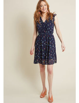 Expert In Your Zeal A Line Dress In Wildflowers Expert In Your Zeal A Line Dress In Wildflowers by Modcloth