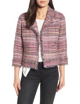 Tweed Open Front Jacket by Halogen®