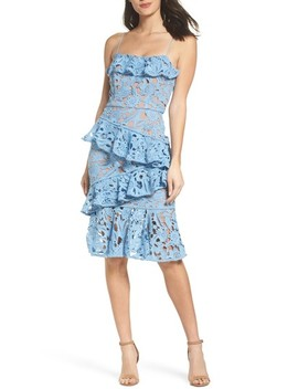 Lace Parfait Ruffle Dress by Cooper St