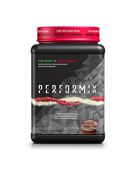 Performix Pro Whey + Super Male T Protein With Time Release And Amino Beads, Male Performance, Peanut Butter Cup by Performix