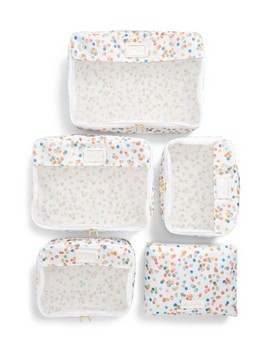 X Oh Joy! Set Of 5 Packing Cubes by Calpak