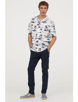 Relaxed Fit Short Sleeve Shirt by H&M