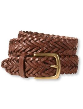 Essential Braided Leather Belt by L.L.Bean
