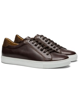 Brown Sneakers by Suitsupply