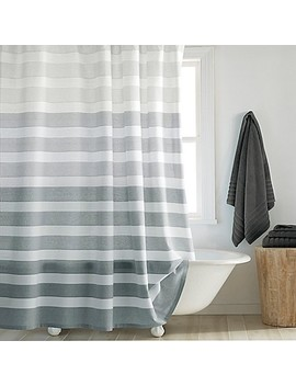dkny-highline-stripe-shower-curtain by bed-bath-and-beyond