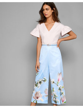 Harmony Wide Leg Jumpsuit by Ted Baker