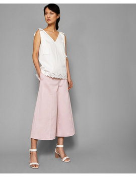 Paper Bag Waist Culottes by Ted Baker