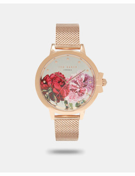 Palace Gardens Link Strap Watch by Ted Baker