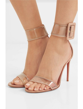 Seduction Pvc And Leather Sandals by Aquazzura