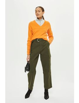Petite Combat Utility Trousers by Topshop