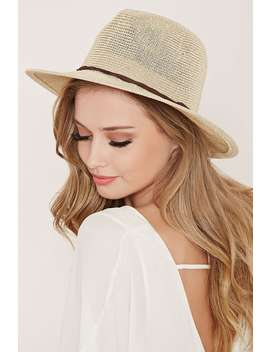 Straw Fedora by Forever 21