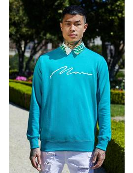 French Montana Man Signature Sweater by Boohoo