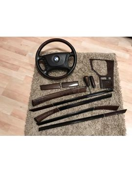 Bmw 5 Series E39 Oem Exclusive Edition Interior Trim Set With Steering Wheel by Ebay Seller