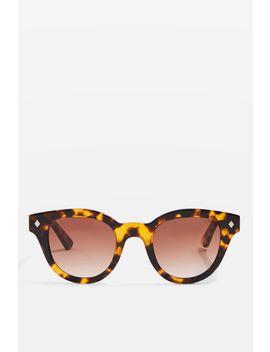 Premium Acetate Tortoiseshell Sunglasses by Topshop