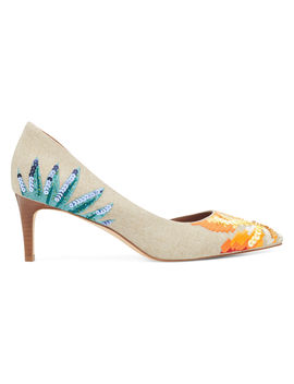 Stanle Half D'orsay Pumps by Nine West