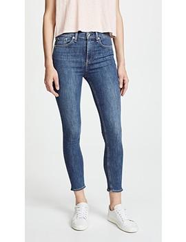 High Rise Skinny Jeans by Rag & Bone/Jean