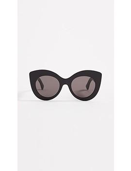 Cat Eye Frame Sunglasses by Fendi