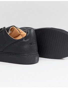 Nicce London Langham Sneakers In Black by Nicce London