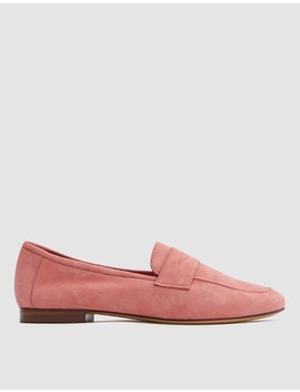 Classic Loafer In Blush Suede by Need Supply Co.